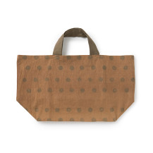 柿渋染めのトートバッグ