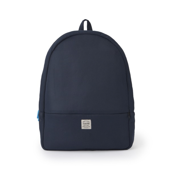TO&FRO BACKPACK -ROUND- NAVY×BLACK