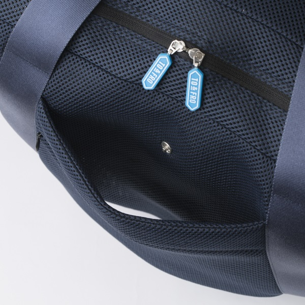 TO&FRO CARRY-ON BAG NAVY×BLACK