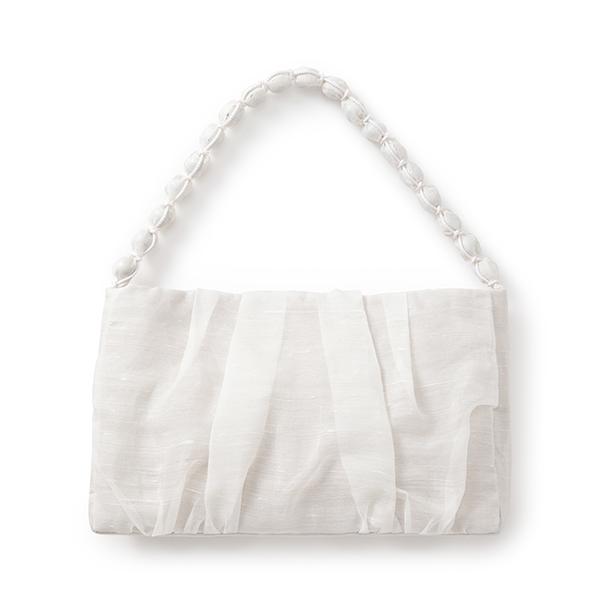 ハンドバッグ しけ絹