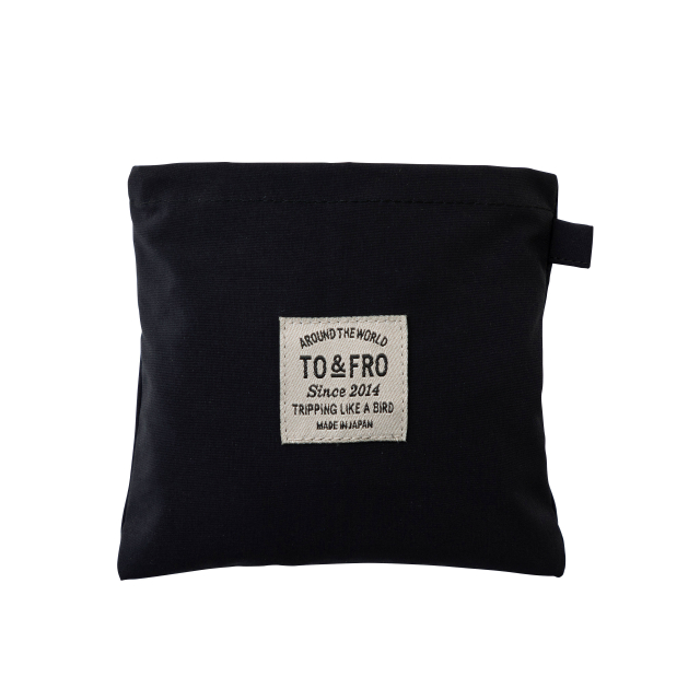 TO&FRO PACKABLE POUCH -SQUARE-