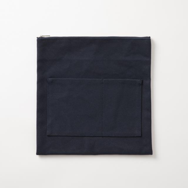 アバカの菱編みフラットバッグ