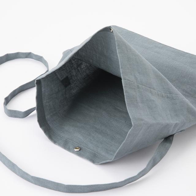 傘屋と作った撥水麻ポシェット