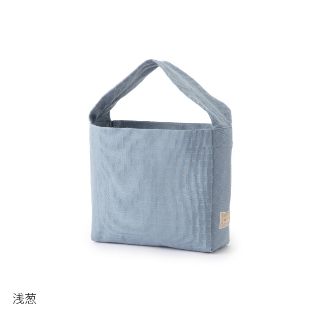 織り刺し子バッグ小 い組