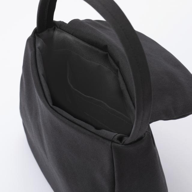 ラバー帆布のハンドバッグ