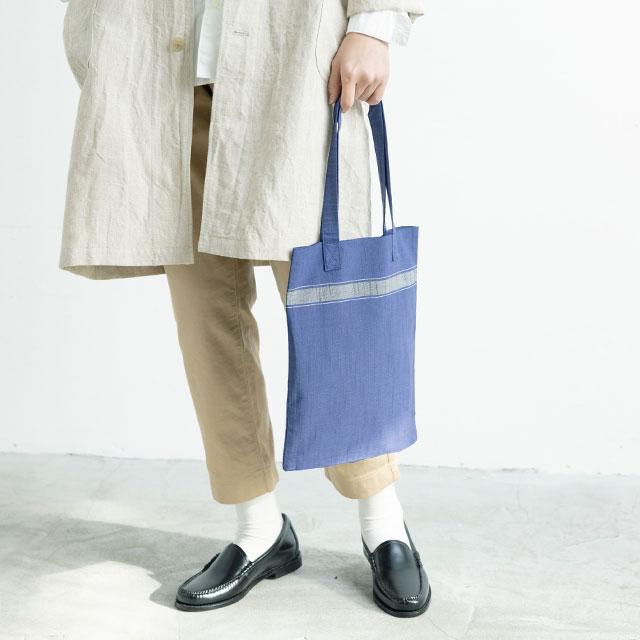 青キ製織所 トートバッグ中