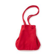 圧縮ブークレー巾着バッグ