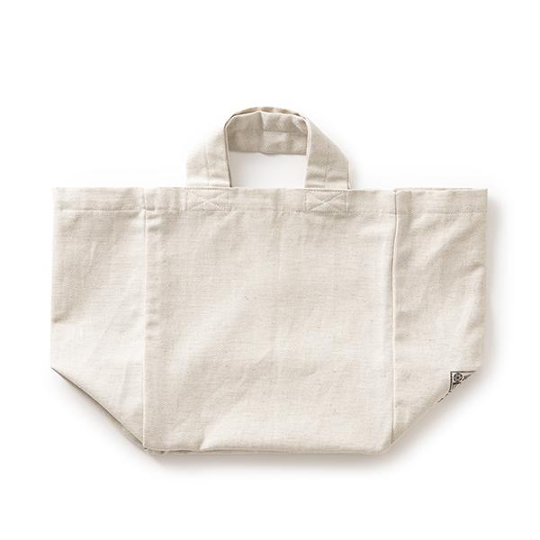 綿麻斜子織りのエコバッグ