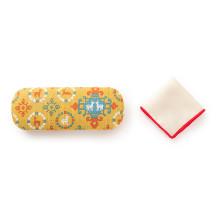 日本市宝物紋 メガネケース 連珠文の鹿【ご当地ものセール】