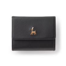 鹿の家族 三つ折財布