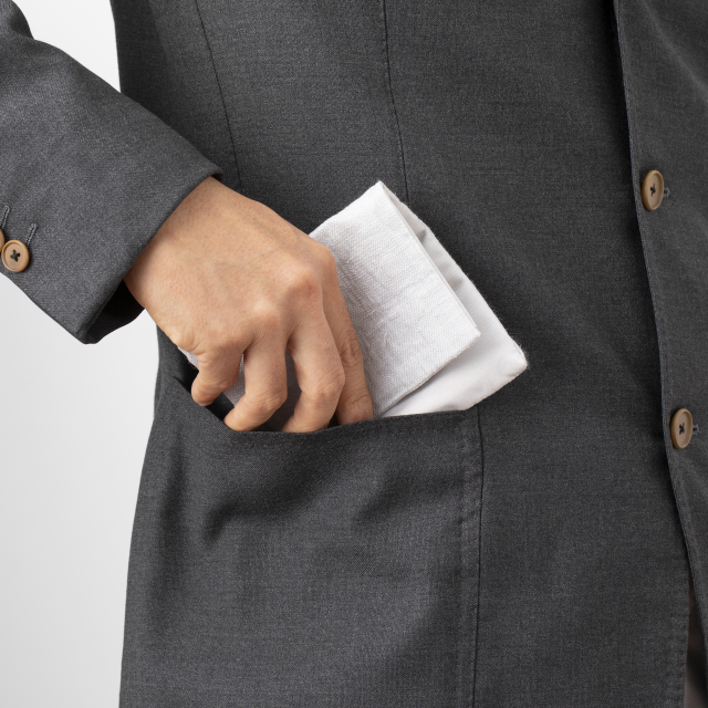内ポケットに入る念珠入れ付き袱紗
