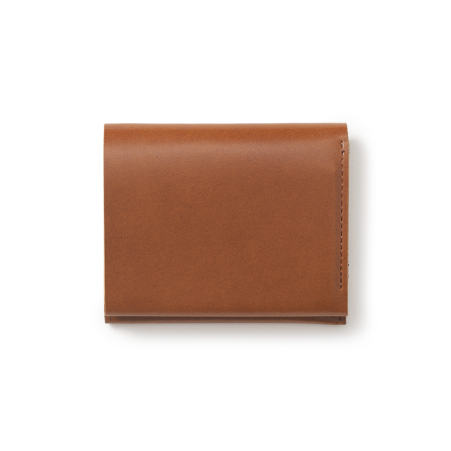 こはぜ留めのコンパクト財布