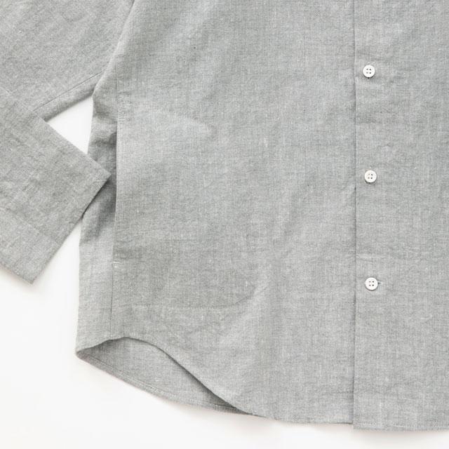 綿麻ラグランワークシャツ
