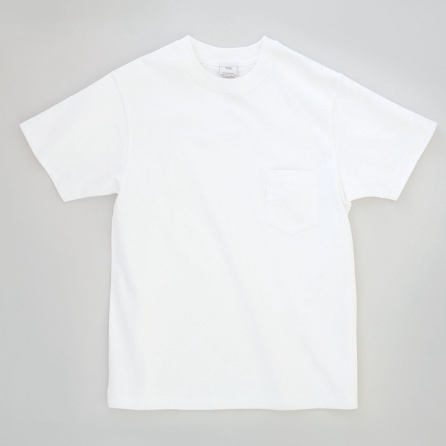 THE POCKET T-SHIRTS WHITE