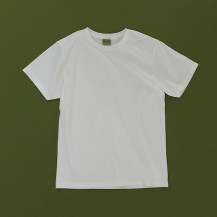 THE ORGANIC COTTON T-SHIRTS WIHTE