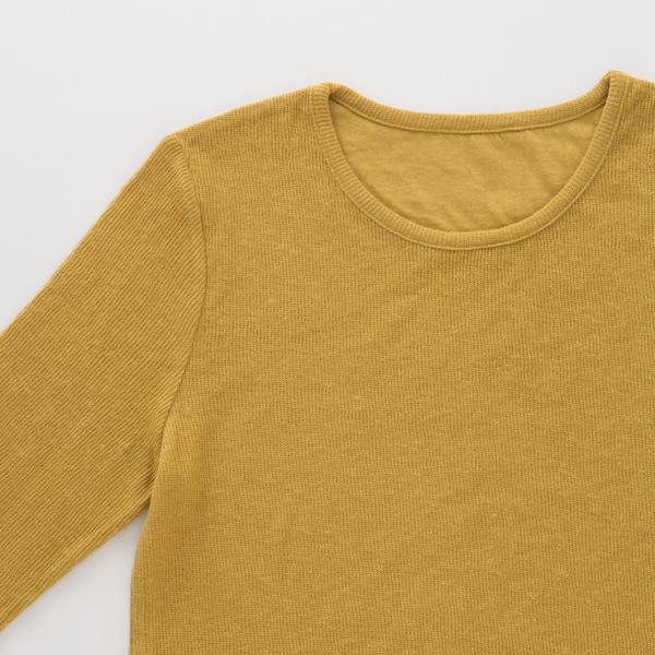 リプロコットンクルーネックTシャツ