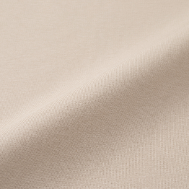 強撚綿スムースのプルオーバー