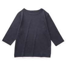 リネンのTシャツ 七分袖