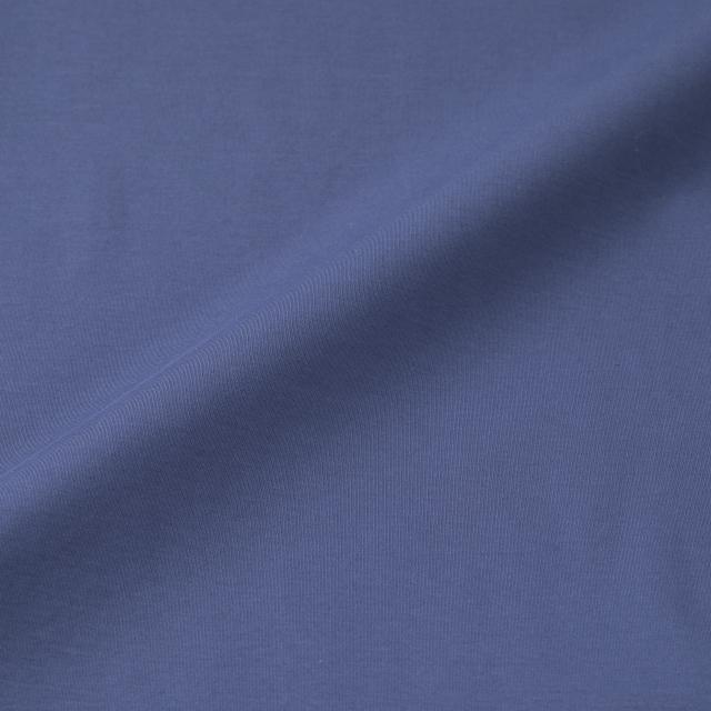 強撚綿スムースハイネックプルオーバー