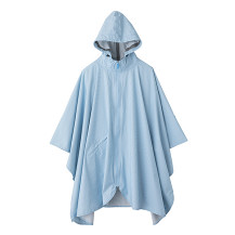 【WEB限定】TO&FRO RAIN PONCHO LIGHT BLUE