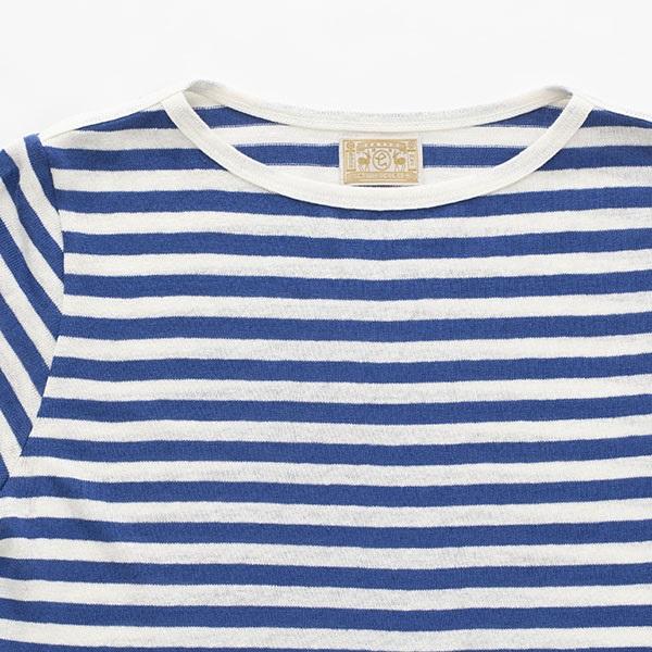 麻のバスクシャツ