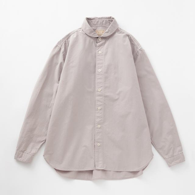 綿の洗いざらしシャツ