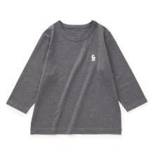 白鹿の刺繍Tシャツ