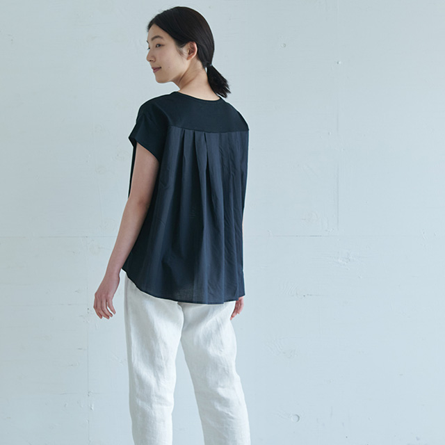 STAMP AND DIARY バックタックTシャツ