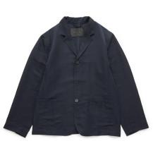 麻ナイロンのテーラードジャケット