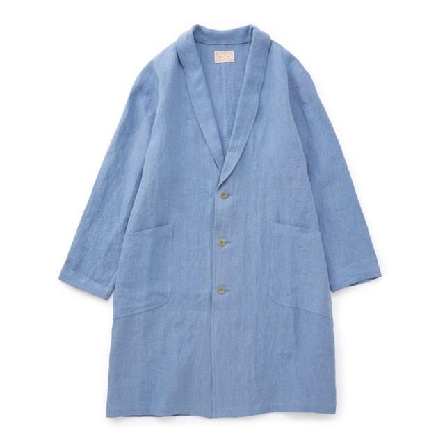 厚手麻のコート