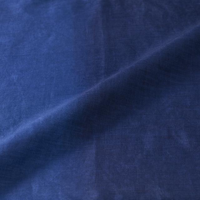 本藍染ブラウス