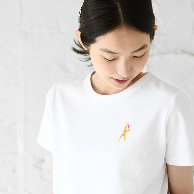 鹿競技之図Tシャツ
