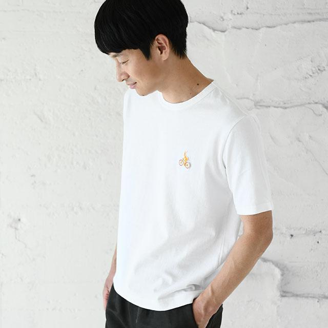 鹿競技之図Tシャツ メンズ