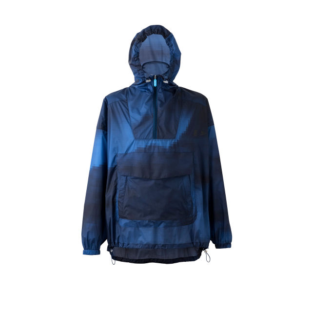 TO&FRO PIXEL SKY ANORAK PARKA