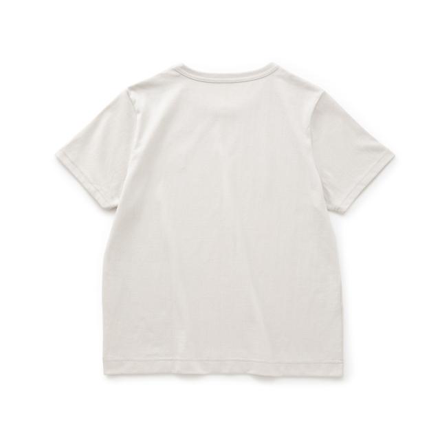 鹿の刺繍Tシャツ
