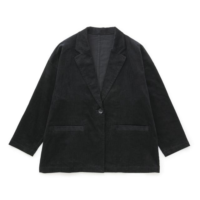 綿麻コーデュロイジャケット
