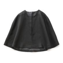 麻の変わり織 ケープジャケット
