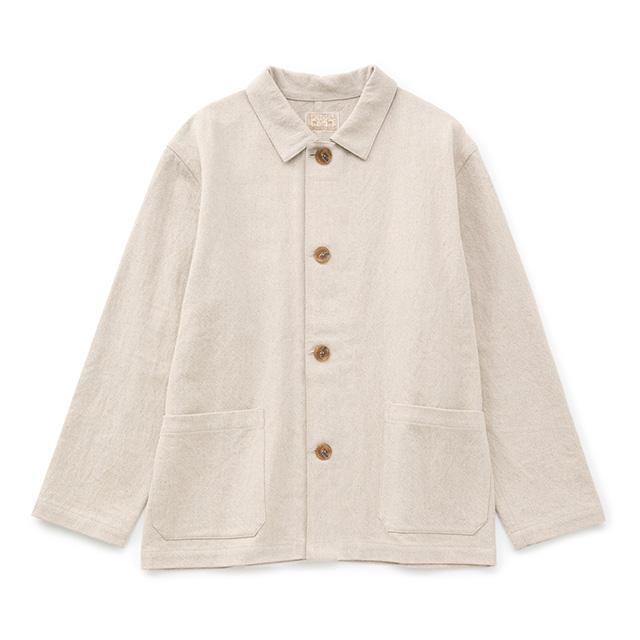 綿麻ドリルのワークジャケット生成