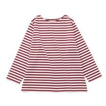空紡糸のワイドバスクシャツ