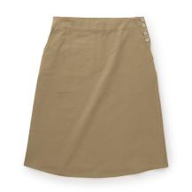 オーガニック綿サージのスカート【お手頃価格】