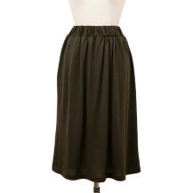 ウールのギャザースカート