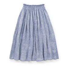 蚊帳生地で作ったスカート
