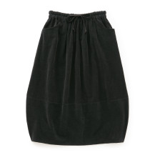 コーデュロイのバルーンスカート