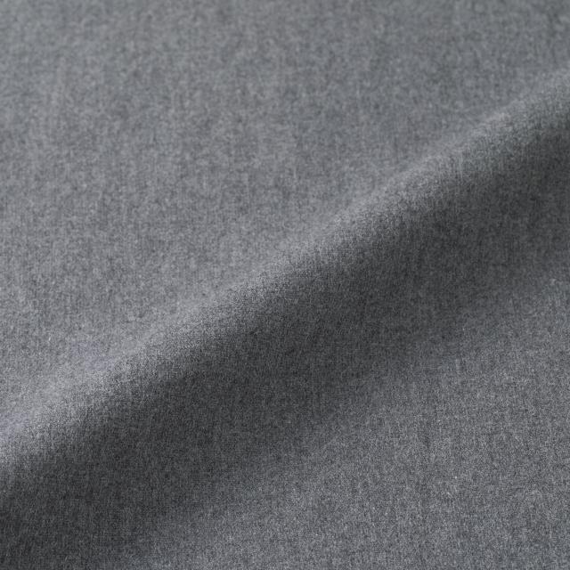 綿起毛のテーパードパンツ