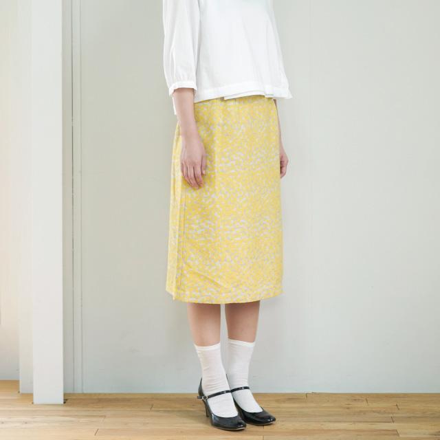 スカート 花雲