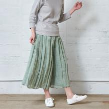 かや織のキュロット【夏セール2020】