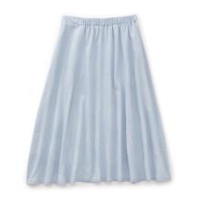 スカート 水鏡(薄青)