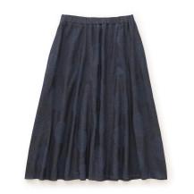 スカート 水鏡(紺)