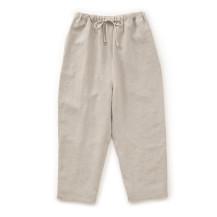 高密度に織った麻のパンツ【夏セール2020】