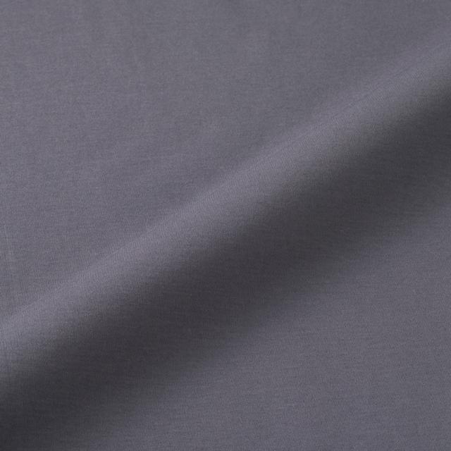 強撚綿スムースのフレアーパンツ
